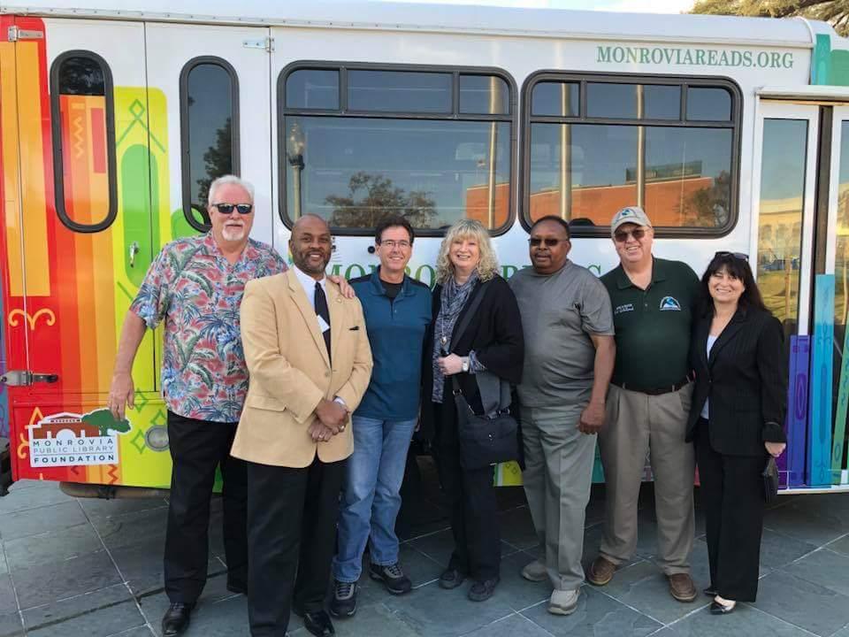 MUSD & City Council Dedicates Monrovia Reads Van